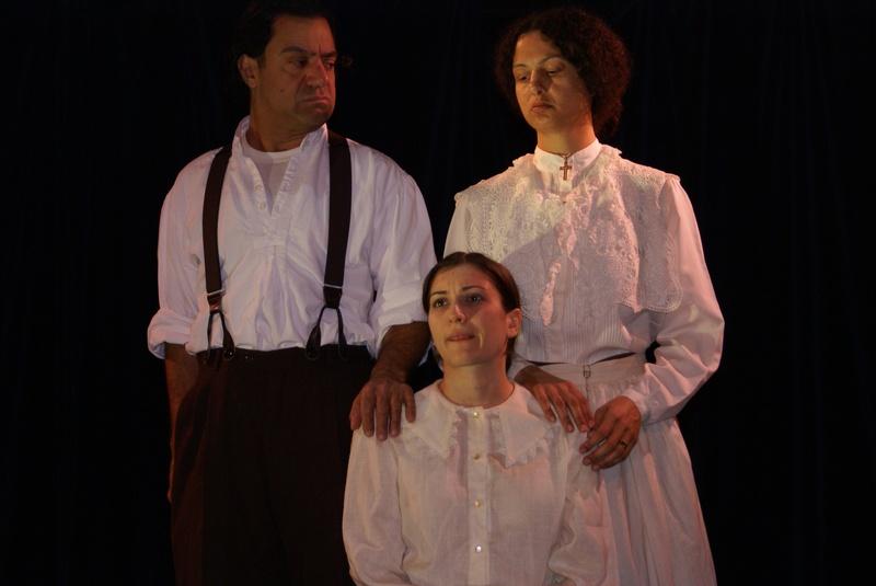Joe. Lucia and Laura